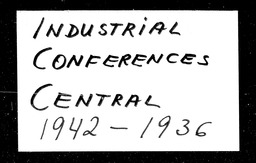 Industrial YWCA of the U.S.A. records, Record Group 11. Microfilmed central files