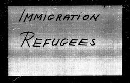 Immigration YWCA of the U.S.A. records, Record Group 11. Microfilmed central files
