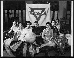 International Division: International leadership training project YWCA of the U.S.A. photographic records