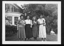 International Division: International study conference on world reconstruction YWCA of the U.S.A. photographic records