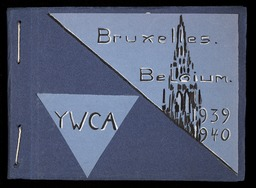 Belgium YWCA of the U.S.A. photographic records