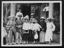 China: Dramatics YWCA of the U.S.A. photographic records