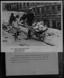 Germany: Children rebuilding YWCA of the U.S.A. photographic records