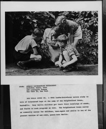 Germany: Teens and children YWCA of the U.S.A. photographic records