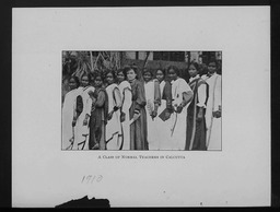 India: Classes YWCA of the U.S.A. photographic records