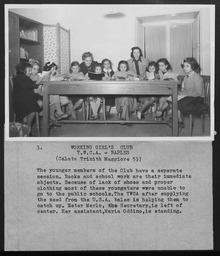 Italy: Teen and youth classes YWCA of the U.S.A. photographic records
