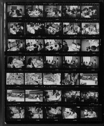 Japan: Contact sheets and negatives YWCA of the U.S.A. photographic records