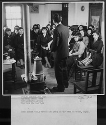 Japan: Y-Teens, general YWCA of the U.S.A. photographic records