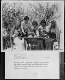 Jordan: Creche figures YWCA of the U.S.A. photographic records
