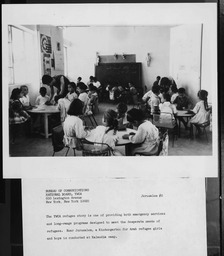 Jordan: Classes YWCA of the U.S.A. photographic records