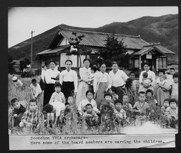Korea: Orphans and refugees YWCA of the U.S.A. photographic records