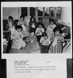 Lebanon: Domestic science YWCA of the U.S.A. photographic records