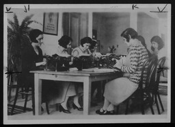 Lebanon: Vocational training YWCA of the U.S.A. photographic records