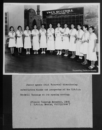 Philippines: Teens YWCA of the U.S.A. photographic records