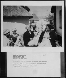 South Africa: Classes YWCA of the U.S.A. photographic records