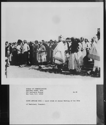 South Africa: Conferences and groups YWCA of the U.S.A. photographic records