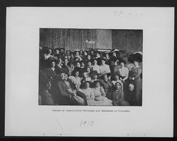 Sri Lanka YWCA of the U.S.A. photographic records