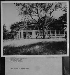 Thailand: Buildings YWCA of the U.S.A. photographic records
