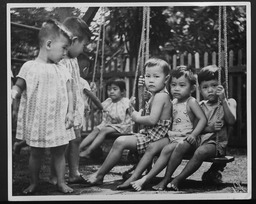 Thailand: Children and teens YWCA of the U.S.A. photographic records