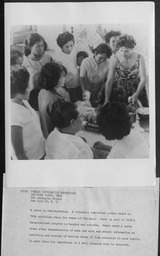 Thailand: Classes YWCA of the U.S.A. photographic records