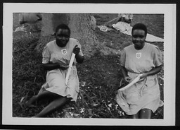 Uganda: Classes and crafts YWCA of the U.S.A. photographic records
