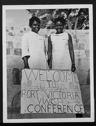 Zimbabwe/Rhodesia/Southern Rhodesia YWCA of the U.S.A. photographic records