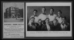 Personnel and training: Secretaries' Training Institute YWCA of the U.S.A. photographic records