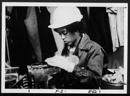 Employed women: Non-Traditional Jobs for Women training programs YWCA of the U.S.A. photographic records