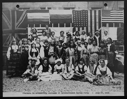 Immigration and foreign communities YWCA of the U.S.A. photographic records