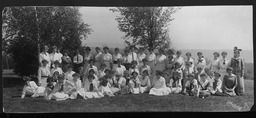 Younger girls and Girl Reserve regional conferences YWCA of the U.S.A. photographic records