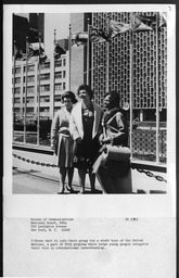 National programs: United Nations study project YWCA of the U.S.A. records, Record Group 9. Photographs