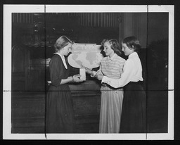 National programs: Y-Teen Roll Call Week YWCA of the U.S.A. photographic records