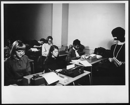 Community association programs: Classes YWCA of the U.S.A. photographic records