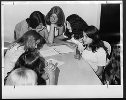 Community association programs: Meetings YWCA of the U.S.A. photographic records