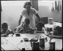 Child care YWCA of the U.S.A. photographic records