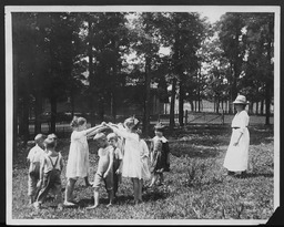 Camping and outdoor recreation: Playgrounds YWCA of the U.S.A. photographic records