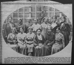 Health: International Conference of Women Physicians YWCA of the U.S.A. photographic records