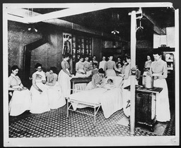 Health: Hospital and invalid care YWCA of the U.S.A. photographic records