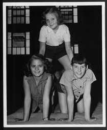Sports and fitness: Exercise and gymnastics classes for children YWCA of the U.S.A. photographic records