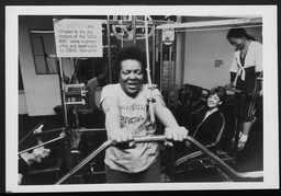 Sports and fitness: Series of exercises for Nontraditional Jobs for Women program, Brooklyn YWCA YWCA of the U.S.A. photographic records