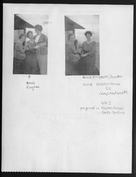 World War I: War work staff YWCA of the U.S.A. photographic records