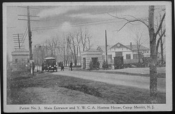 World War I: Hostess houses, New Jersey YWCA of the U.S.A. photographic records