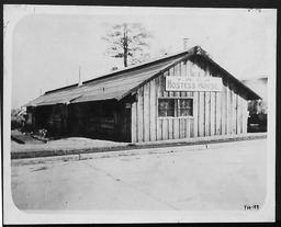 World War I: Hostess houses, North Carolina YWCA of the U.S.A. photographic records