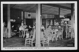 World War I: Hostess houses, Ohio YWCA of the U.S.A. records, Record Group 9. Photographs