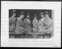 World War I: International work, overseas staff YWCA of the U.S.A. photographic records