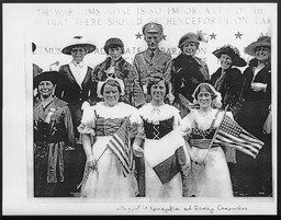 World War I: International work, Training School for Old Country Service YWCA of the U.S.A. photographic records