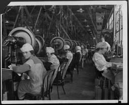 World War I: Women war workers, New Jersey YWCA of the U.S.A. photographic records