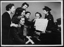 World War II: International, YWCA war service centers YWCA of the U.S.A. photographic records