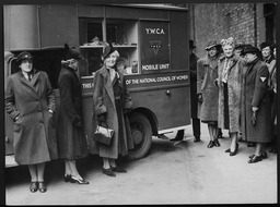 World War II: International, Great Britain YWCA of the U.S.A. photographic records