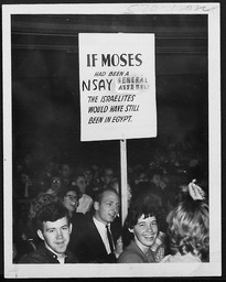 National Student Assembly of the YMCA and YWCA YWCA of the U.S.A. photographic records